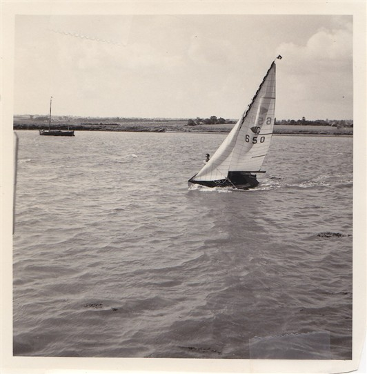 Photo:Dinghy on River Crouch