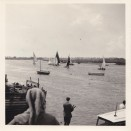 Photo:Dinghy race on River Crouch (1950s or 60s)
