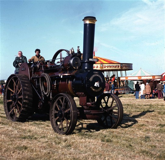 Photo:Steam Traction Engine and fun at the Fair
