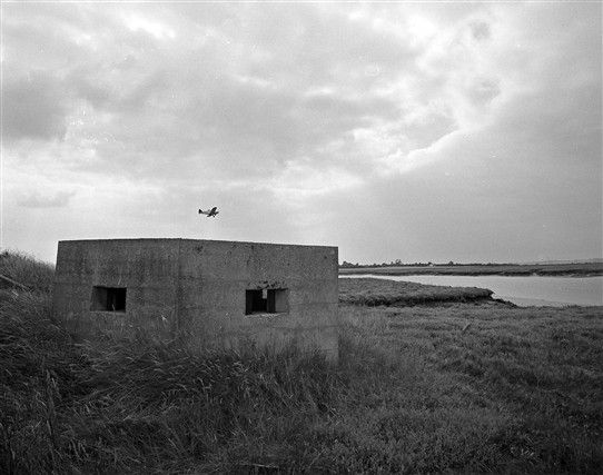 Photo:Pillbox by Churchend Creek