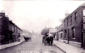 Photo:Wakering High Street looking East