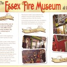 Photo:<b />Essex Fire Museum flyer, Grays</b>