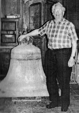 Photo:Ken Smith - with old tenor bell