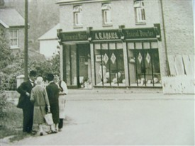 Photo:A R Adams outside the Rayleigh Road, Thundersley branch
