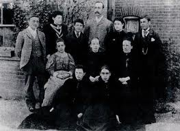 Photo:Staff at Rochford Board School c. 1895