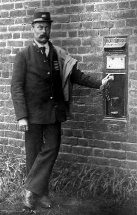 Photo:William Topsfield - letter carrier