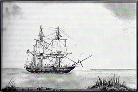 Photo: Illustrative image for the 'HMS Beagle at Paglesham' page