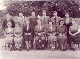 Photo: Illustrative image for the 'Love Lane School Staff 1948-9' page